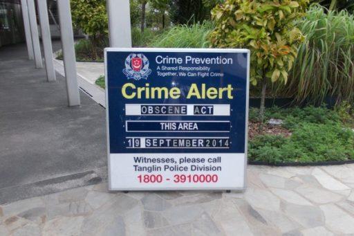 Na miestach, kde sa stane pristupok sa vyvesí takáto tabuľa aby všetkých varovala
