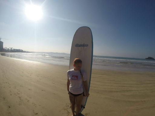 Tesne pred prvou surfovačkou