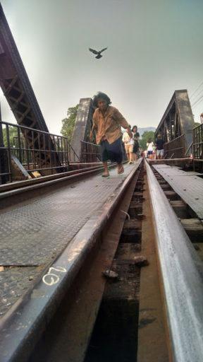 Momentka na moste cez rieku Kwai