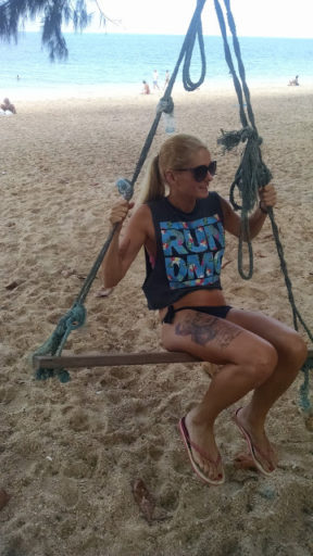 Beach chick!