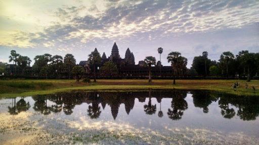 Najväčšia pýcha Siam Reap je jeden z piatich divov sveta Angkor Wat