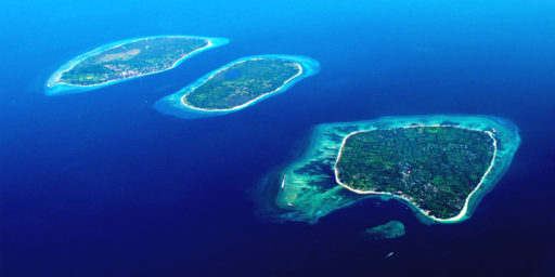 Gili Islands mapicka