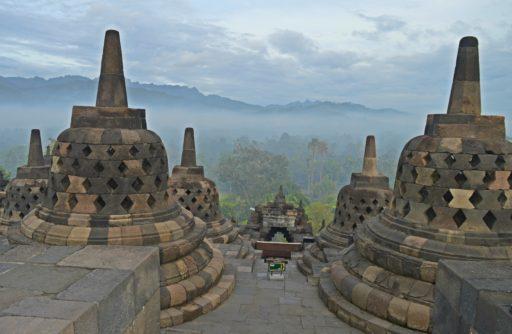 Borobudur v plnej paráde