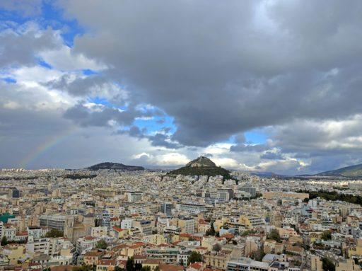 Atény na dlani