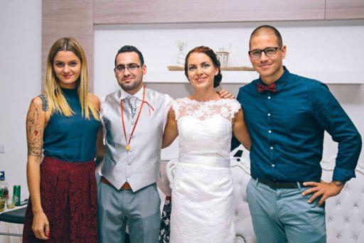 Naši drahí svadobčania Zuzka a Kyri