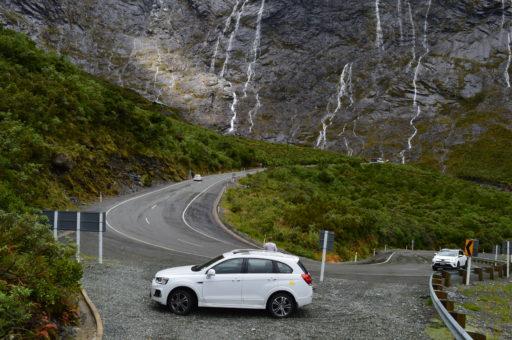 Cesta z Milford Sound